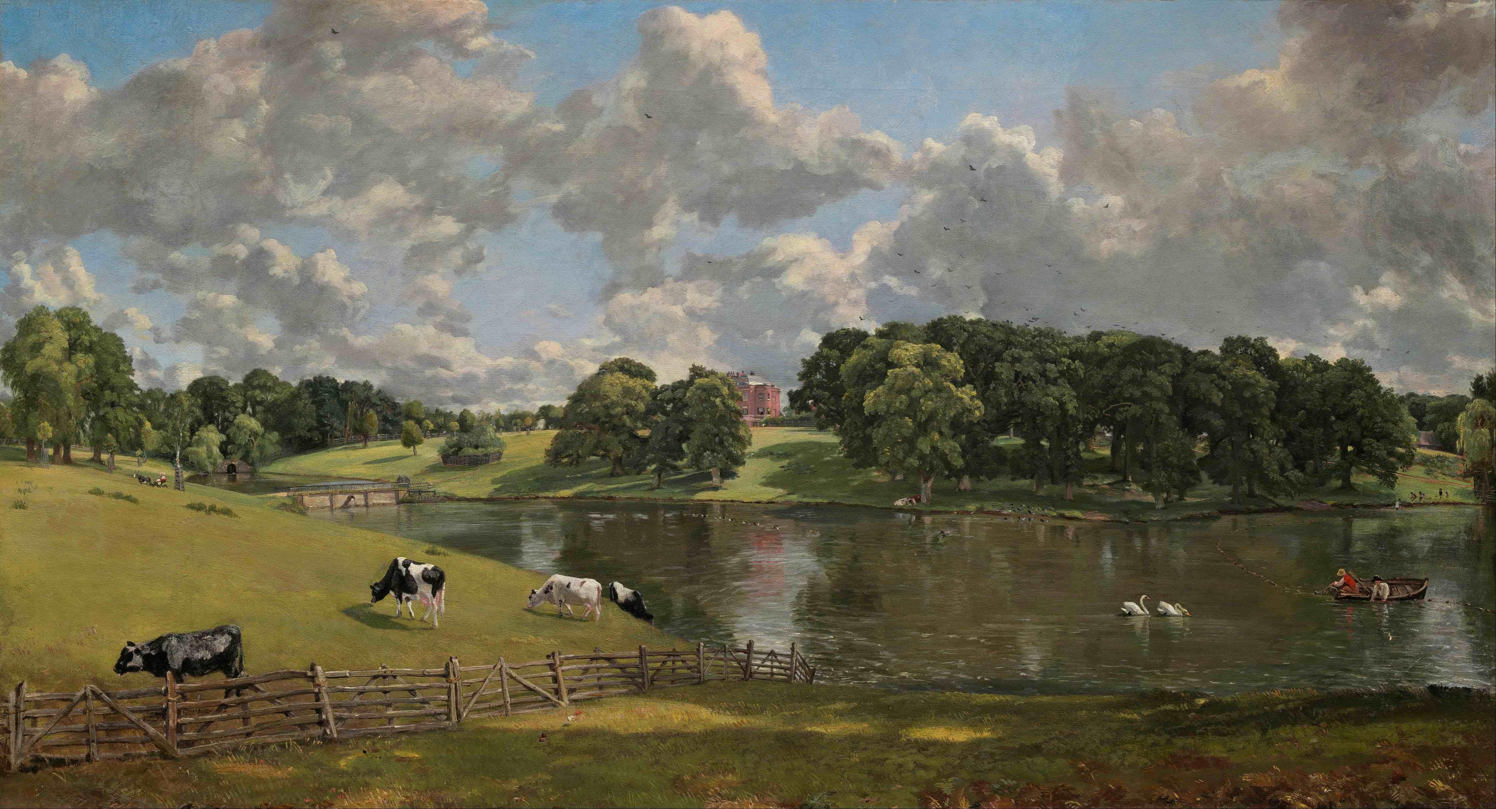 Brahms - Serenata Constable-Wivenhoe-Park