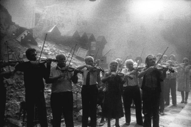 Música Clássica Cinema Ensaio.de.Orquestra.Fellini