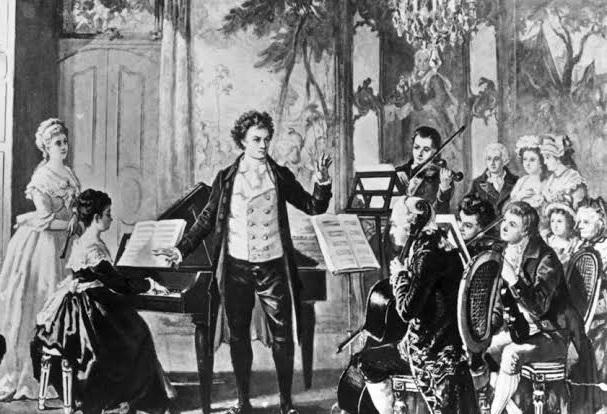 Beethoven na corte - concerto para violino e orquestra