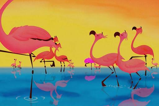 Disney Flamingos Fantasia 2000 | Saint-Saëns – O Carnaval dos Animais