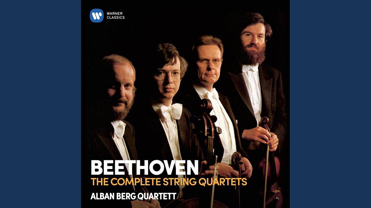 Beethoven Quarteto Op.18 nº 4