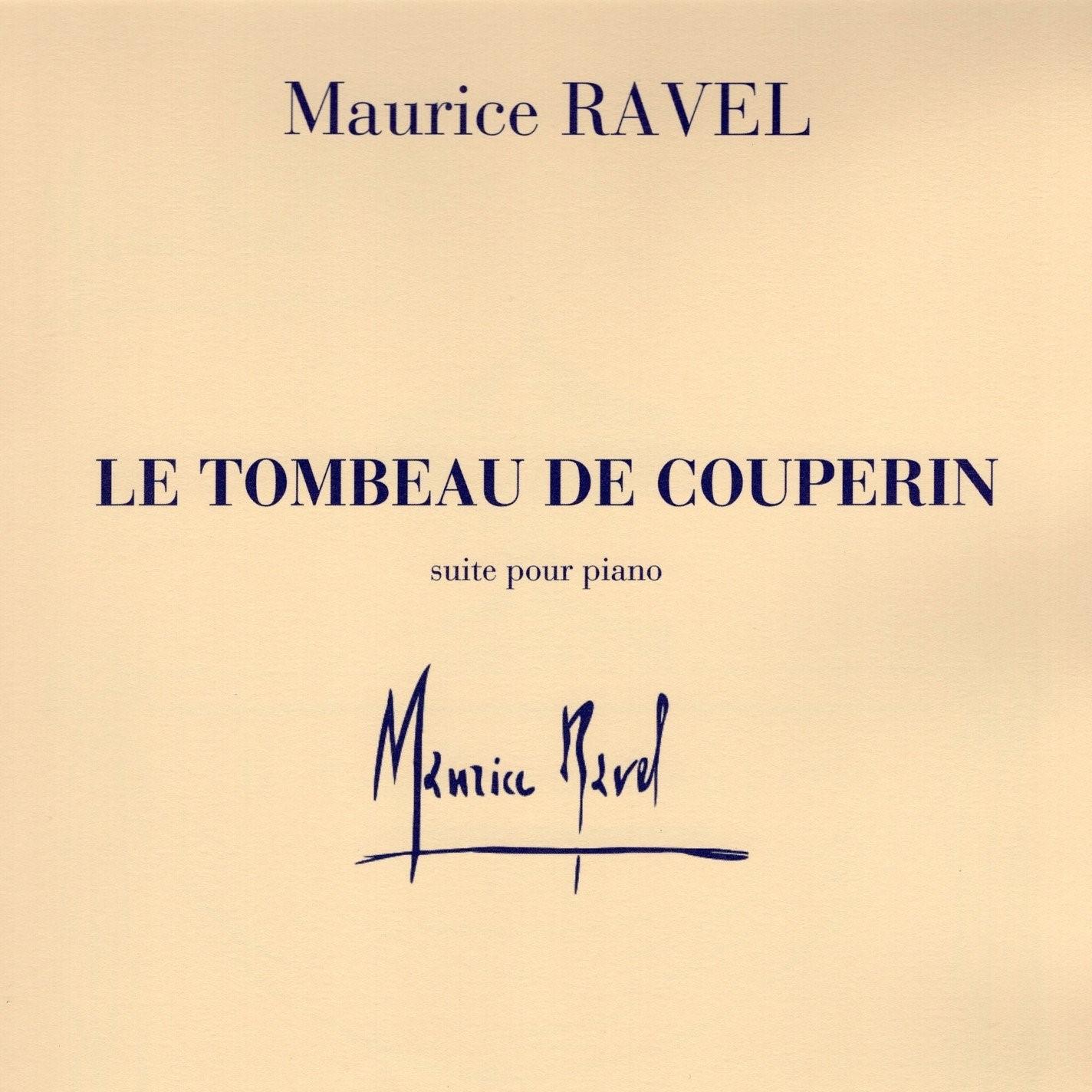 Ravel - Tombeau de Couperin