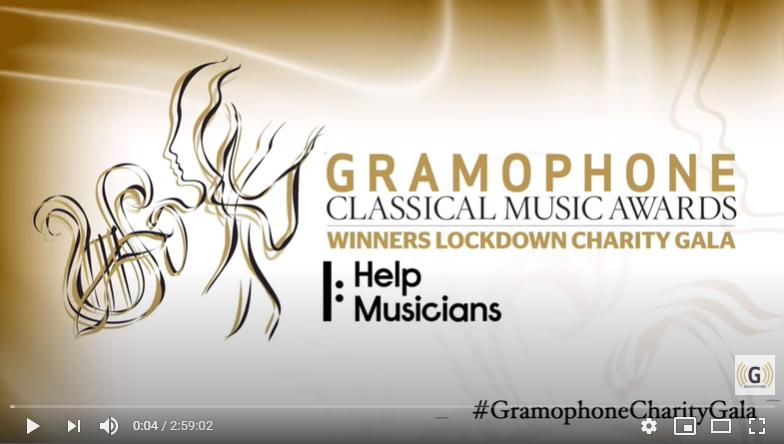Gramophone Charity Gala Quarentena