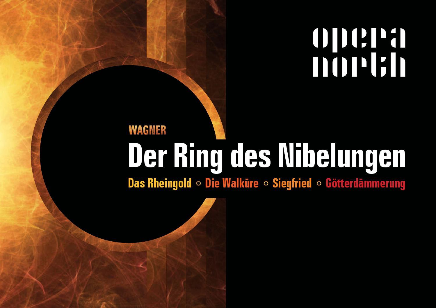 Opera North Wagner O ANEL DO NIBELUNGO