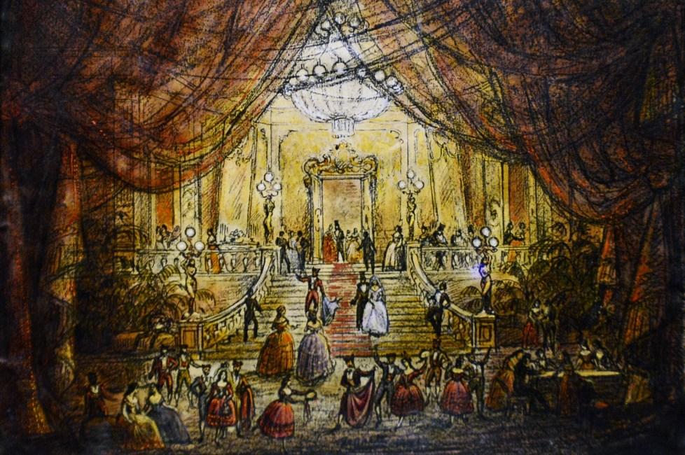 romantismo música italiana La Traviata_sketch
