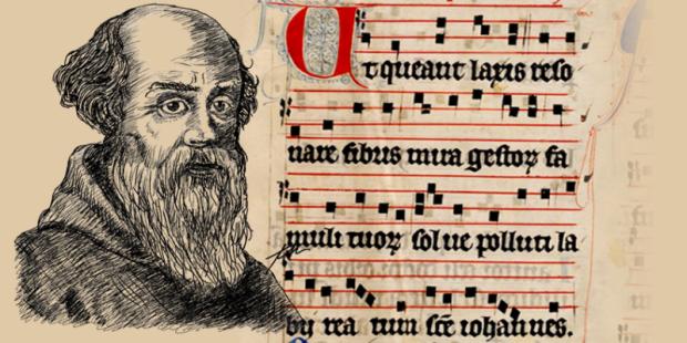 musica italiana idade media guido-darezzo-notas-musicais