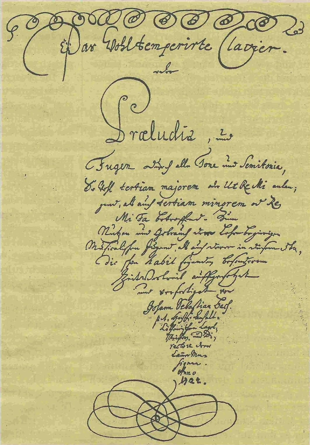 Bach: Prelúdio e Fuga nº 1, Livro I - O Cravo-Bem Temperado |