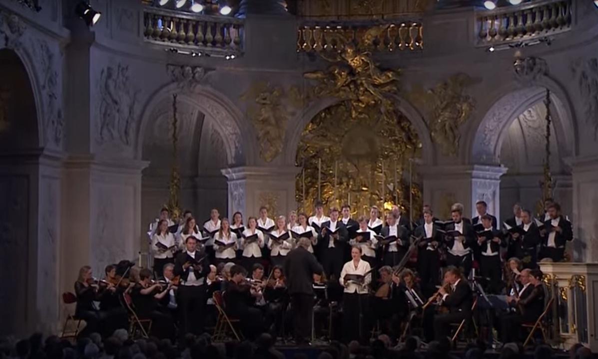 Monteverdi Choir – Concerto de 50 Anos   Capela do Palácio de Versalhes