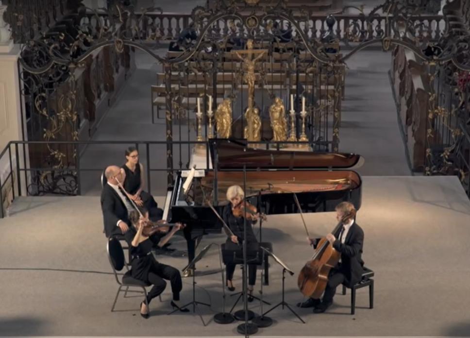 Mozart – Quarteto para Piano e Cordas em Sol Menor, K. 478