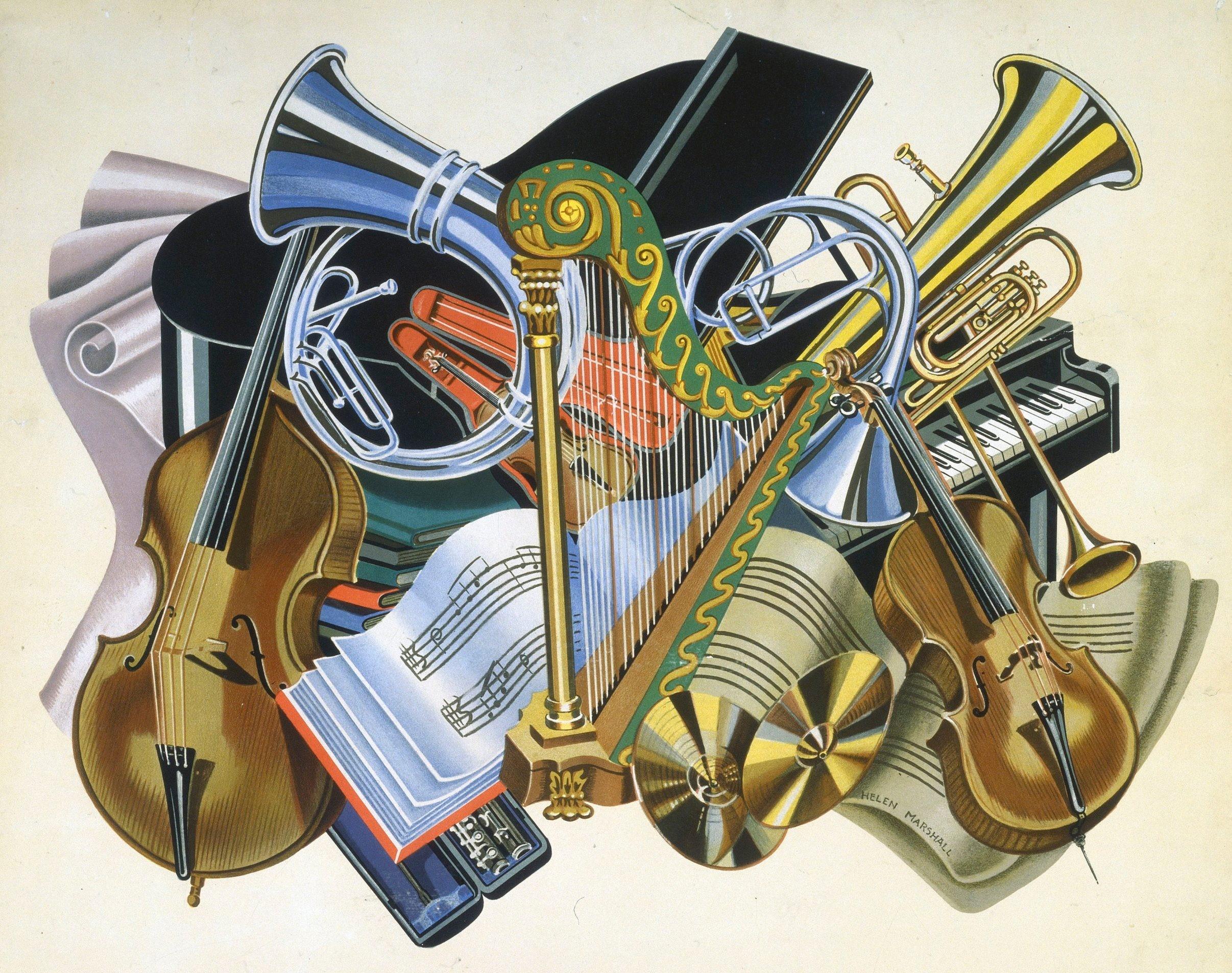 Cinco maiores compositores da música clássica - instrumentos