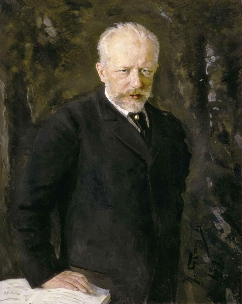 pa de deux canvas-oil-Pyotr-Ilyich-Tchaikovsky-Nikolai-Kuznetsov-1893