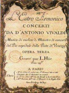 Vivaldi – Concerto para Dois Violinos e Cordas em Lá Menor, Op. 3 nº 8
